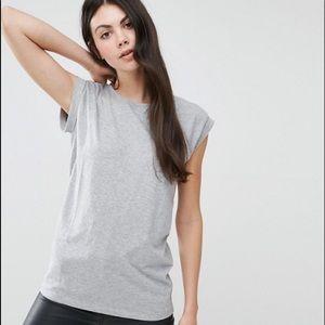 Asos New Look Tall Boyfriend T-Shirt gray